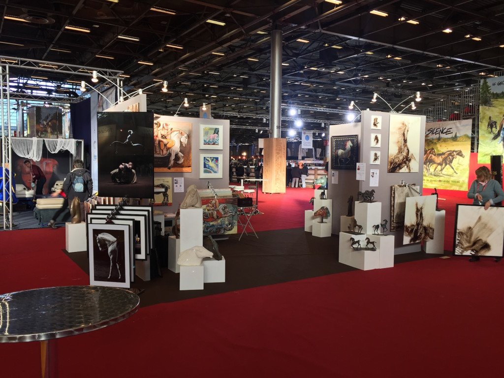 Stand du Club au salon du cheval