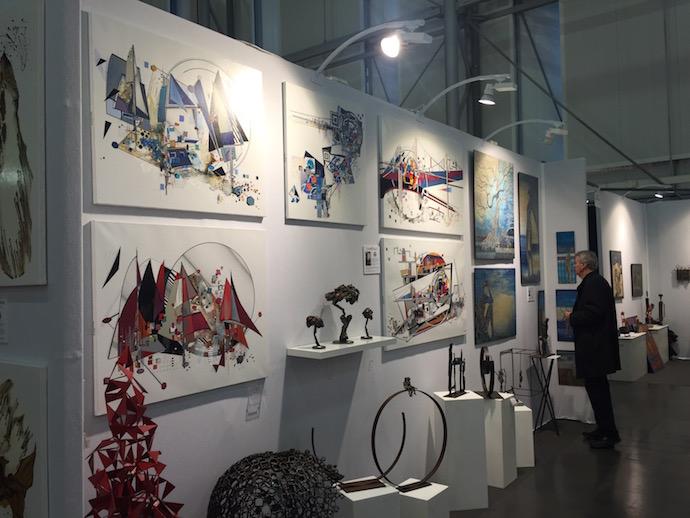 Le Club des Ateliers d'Artistes sur Art3F Nantes